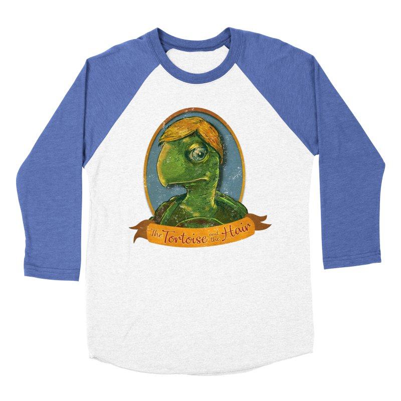 The Tortoise And The Hair Men's Baseball Triblend Longsleeve T-Shirt by Zero Street's Artist Shop