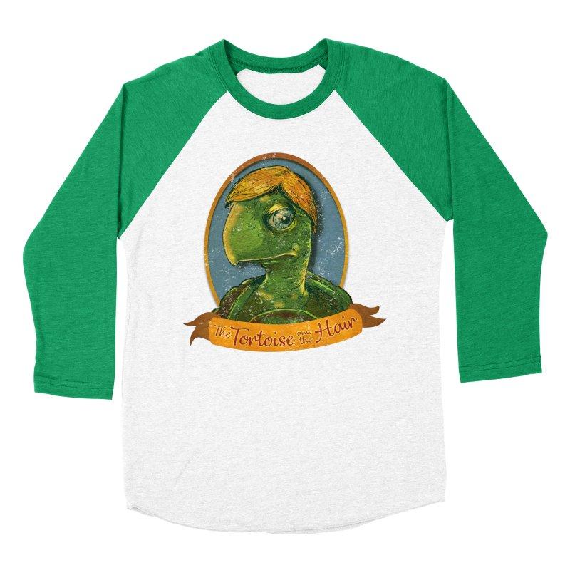 The Tortoise And The Hair Men's Baseball Triblend Longsleeve T-Shirt by Zerostreet's Artist Shop