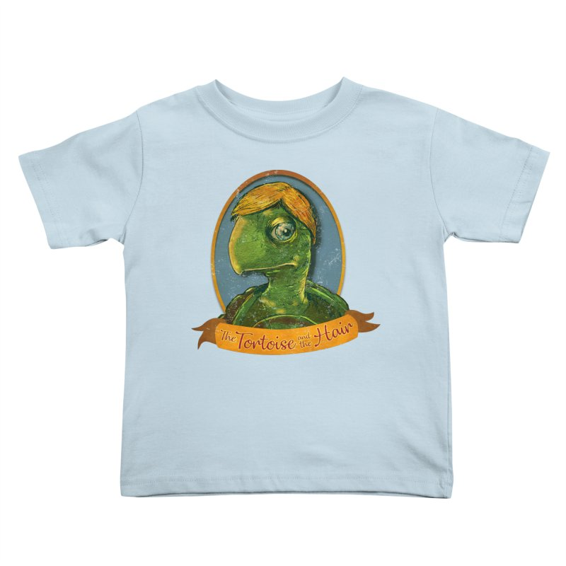 The Tortoise And The Hair Kids Toddler T-Shirt by Zerostreet's Artist Shop
