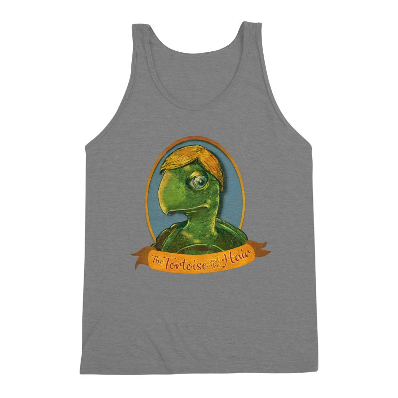 The Tortoise And The Hair Men's Triblend Tank by Zerostreet's Artist Shop