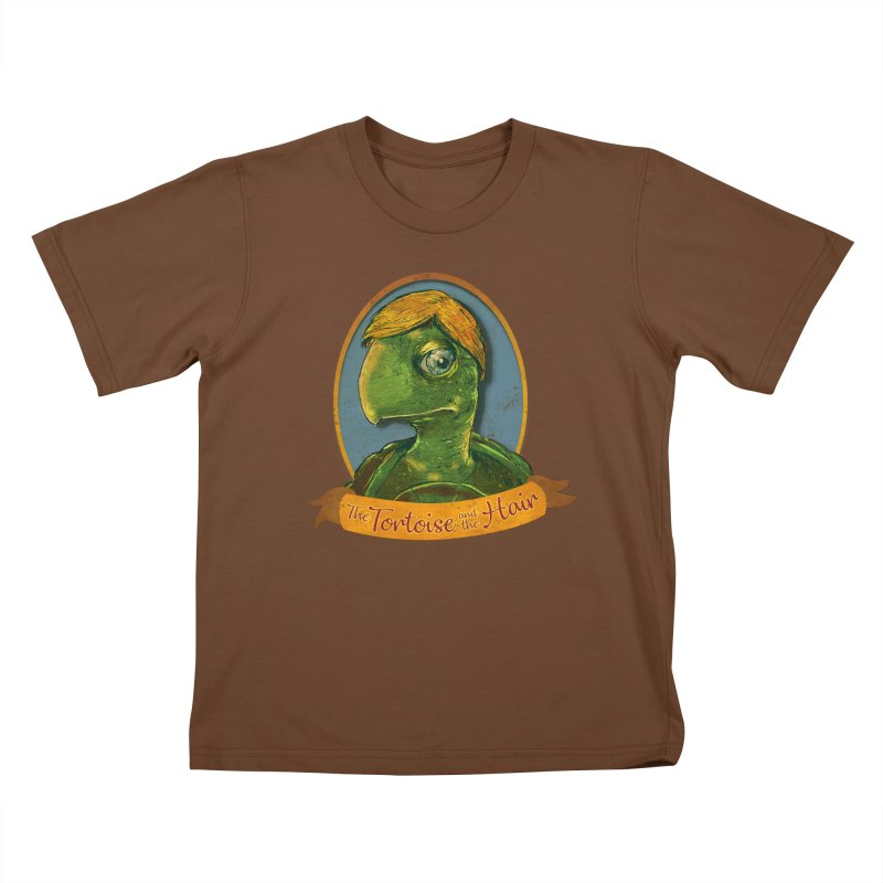 The Tortoise And The Hair Kids T-Shirt by Zero Street's Artist Shop