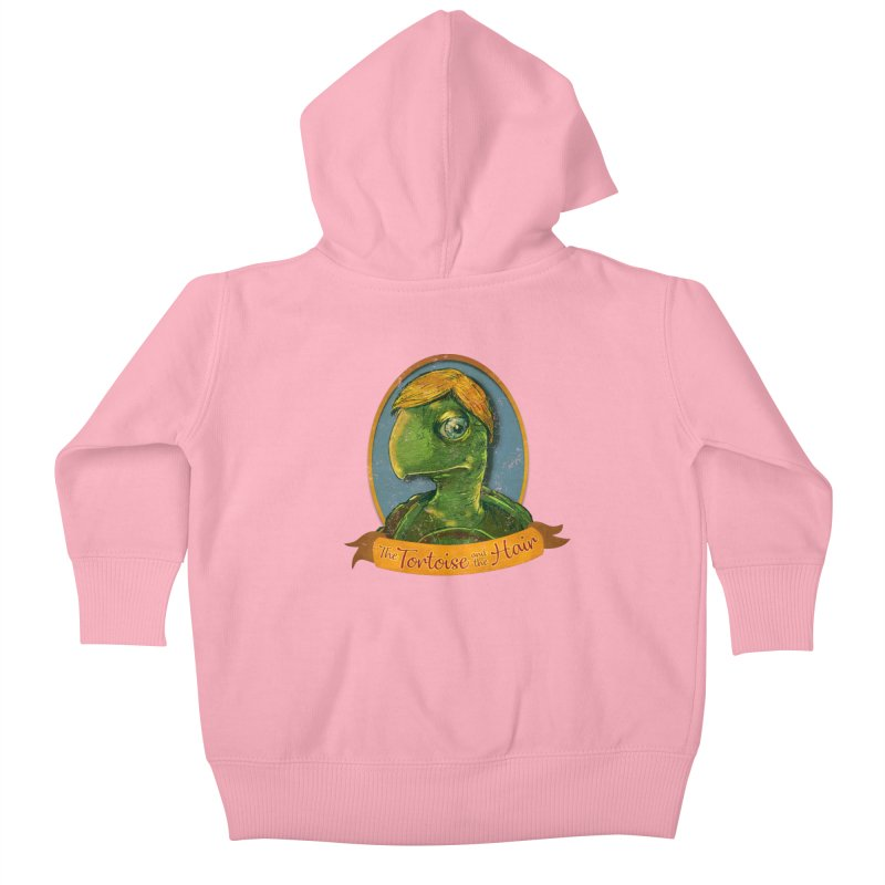 The Tortoise And The Hair Kids Baby Zip-Up Hoody by Zerostreet's Artist Shop
