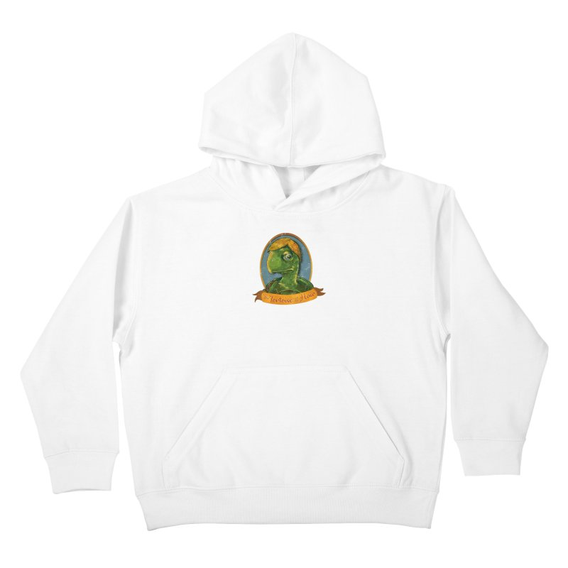 The Tortoise And The Hair Kids Pullover Hoody by Zero Street's Artist Shop