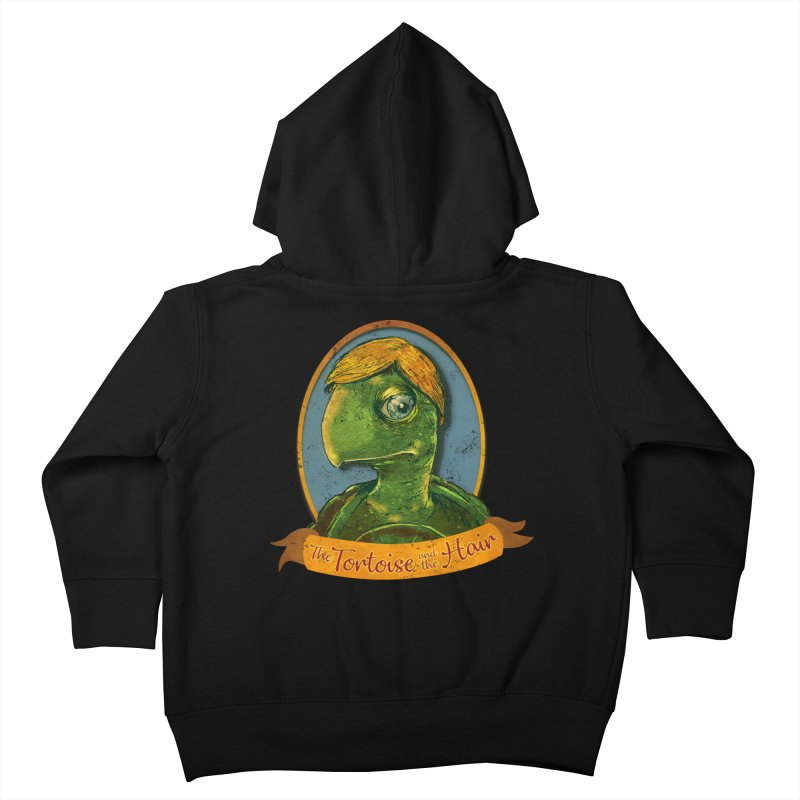 The Tortoise And The Hair Kids Toddler Zip-Up Hoody by Zerostreet's Artist Shop