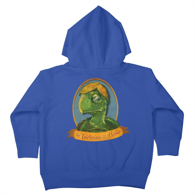 The Tortoise And The Hair Kids Toddler Zip-Up Hoody by Zero Street's Artist Shop
