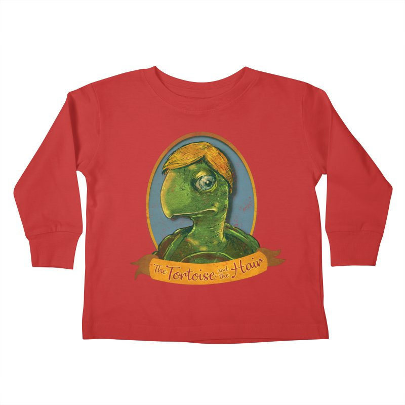 The Tortoise And The Hair Kids Toddler Longsleeve T-Shirt by Zerostreet's Artist Shop