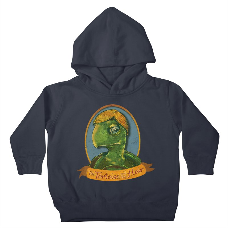 The Tortoise And The Hair Kids Toddler Pullover Hoody by Zero Street's Artist Shop