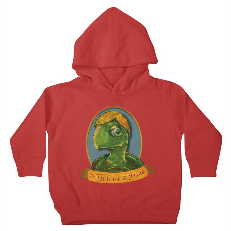 The Tortoise And The Hair Kids Toddler Pullover Hoody by Zerostreet's Artist Shop