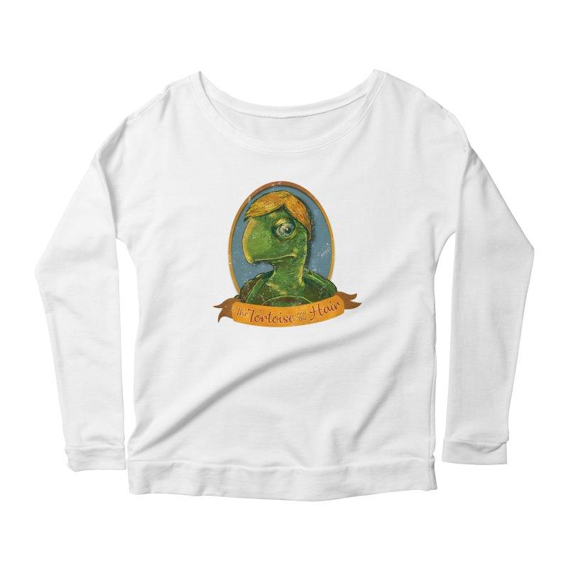 The Tortoise And The Hair Women's Scoop Neck Longsleeve T-Shirt by Zero Street's Artist Shop
