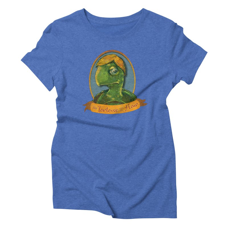 The Tortoise And The Hair Women's Triblend T-Shirt by Zerostreet's Artist Shop