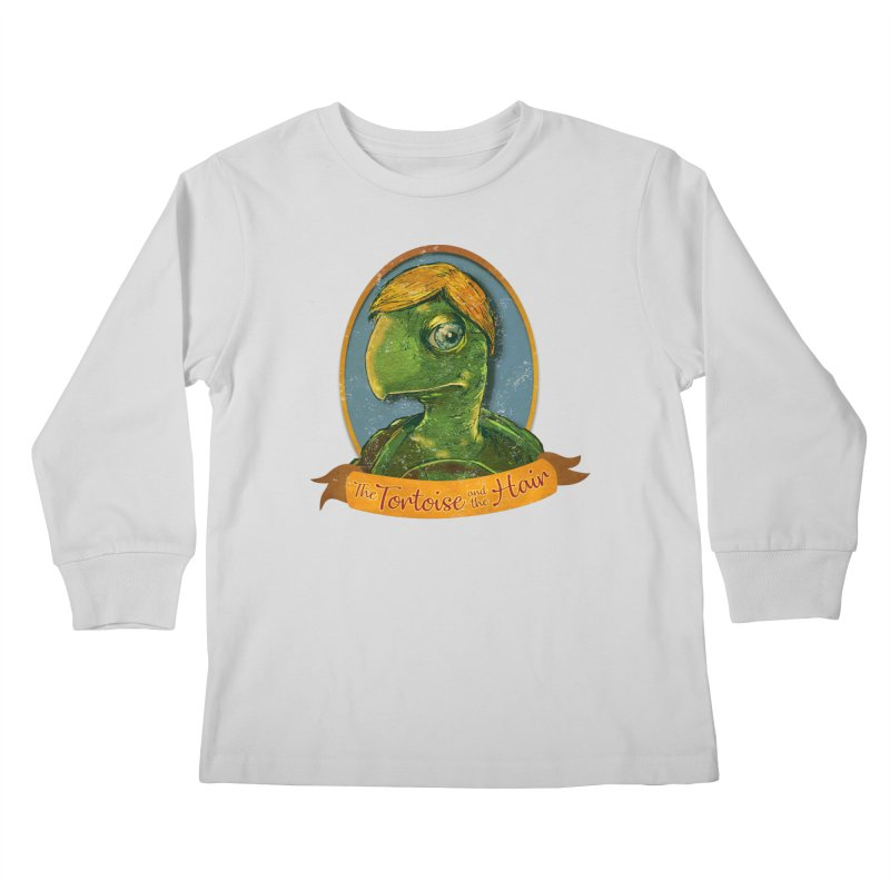 The Tortoise And The Hair Kids Longsleeve T-Shirt by Zerostreet's Artist Shop