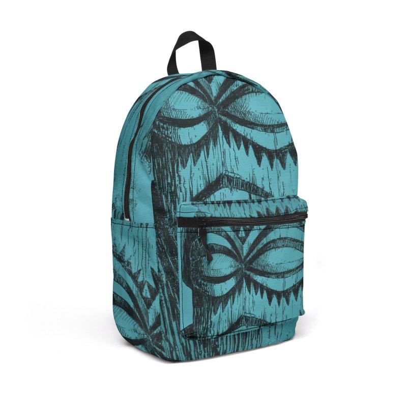 Tangaroa #3 Accessories Backpack Bag by Zero Street's Artist Shop