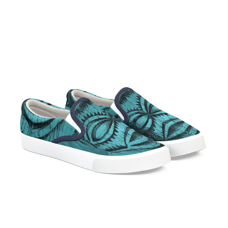 Tangaroa #3 Women's Slip-On Shoes by Zerostreet's Artist Shop