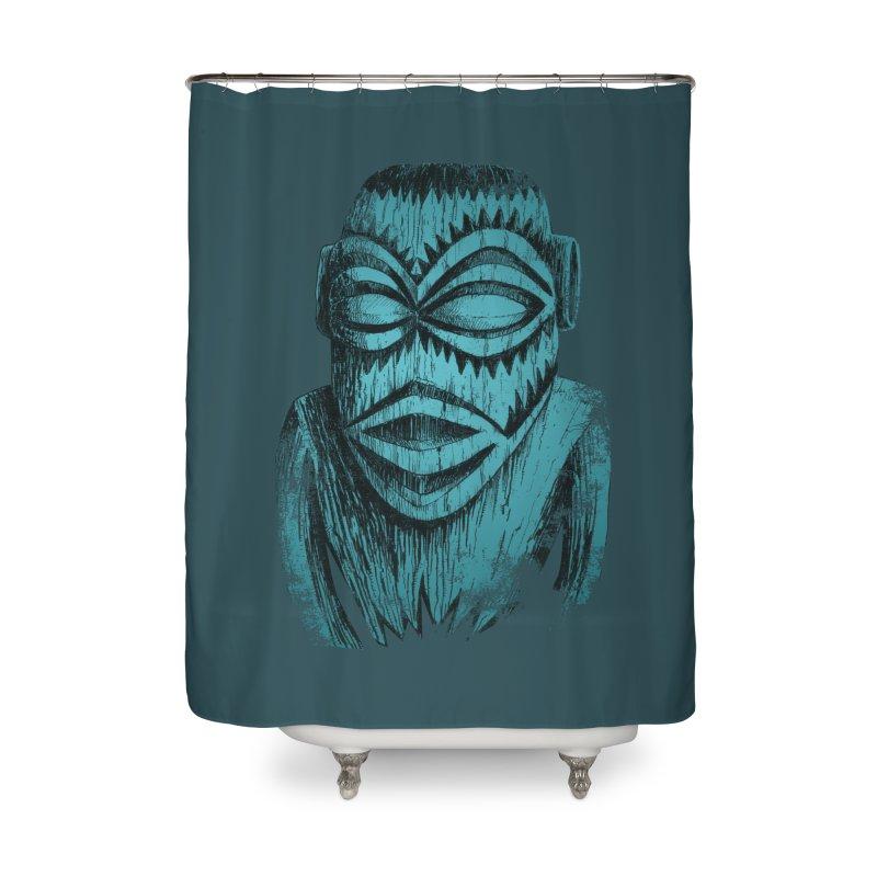 Tangaroa #3 Home Shower Curtain by Zero Street's Artist Shop