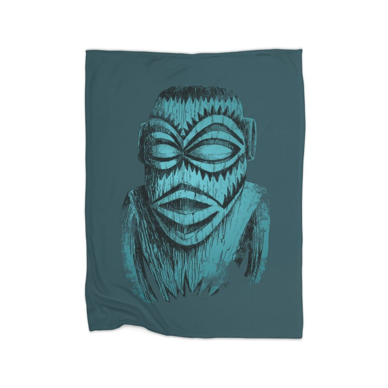 Tangaroa #3 Home Fleece Blanket Blanket by Zerostreet's Artist Shop