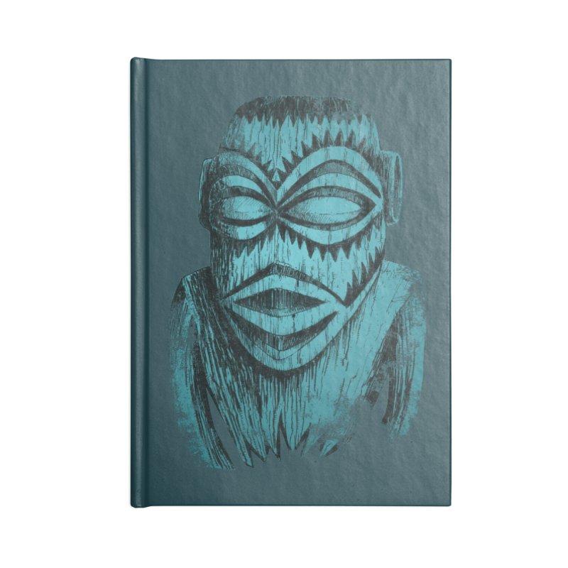 Tangaroa #3 Accessories Blank Journal Notebook by Zero Street's Artist Shop