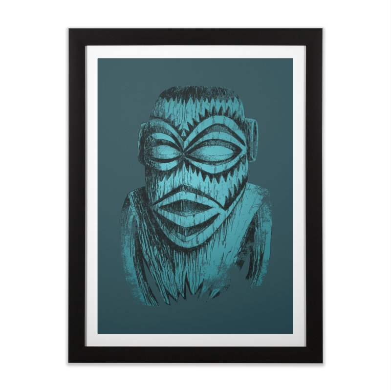 Tangaroa #3 Home Framed Fine Art Print by Zerostreet's Artist Shop