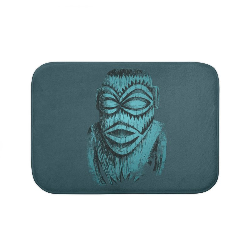Tangaroa #3 Home Bath Mat by Zerostreet's Artist Shop