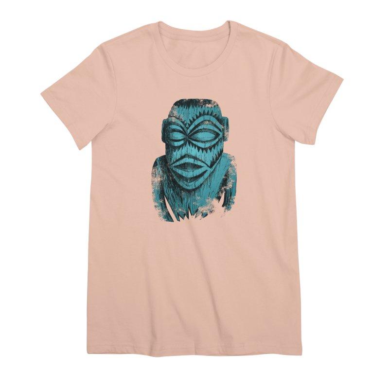Tangaroa #3 Women's Premium T-Shirt by Zerostreet's Artist Shop