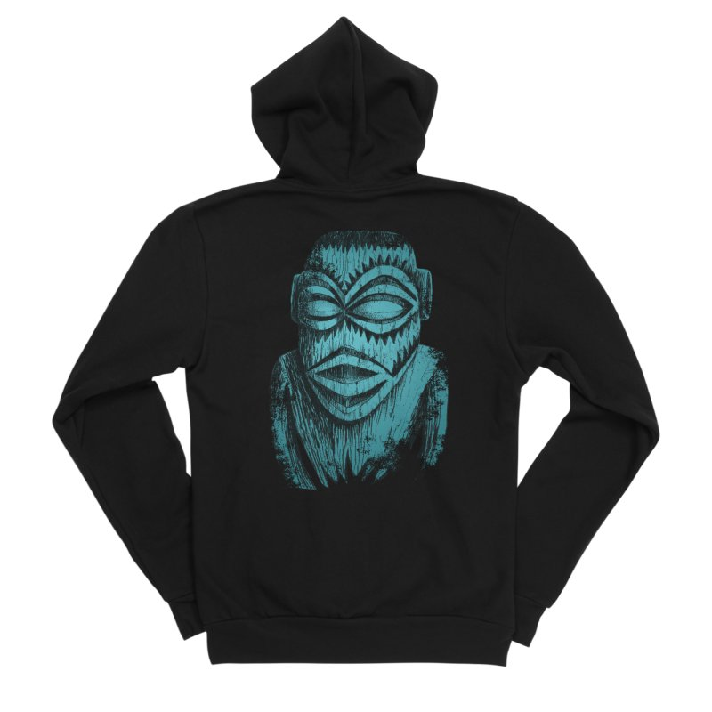 Tangaroa #3 Men's Sponge Fleece Zip-Up Hoody by Zero Street's Artist Shop