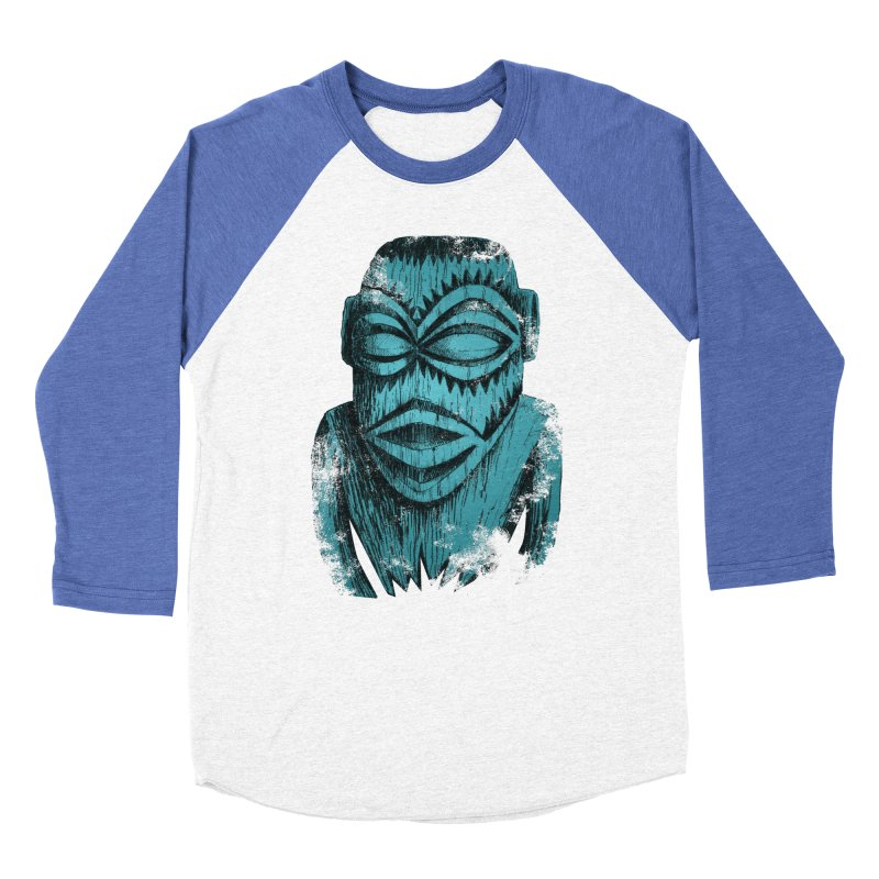 Tangaroa #3 Men's Baseball Triblend Longsleeve T-Shirt by Zerostreet's Artist Shop