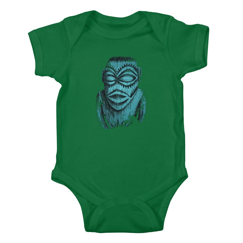 Tangaroa #3 Kids Baby Bodysuit by Zero Street's Artist Shop