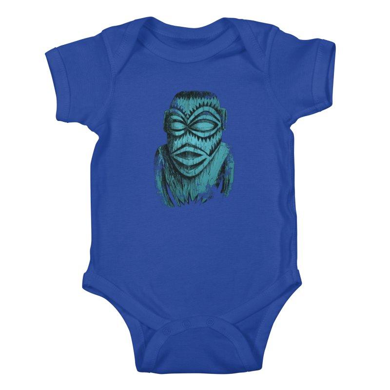 Tangaroa #3 Kids Baby Bodysuit by Zerostreet's Artist Shop