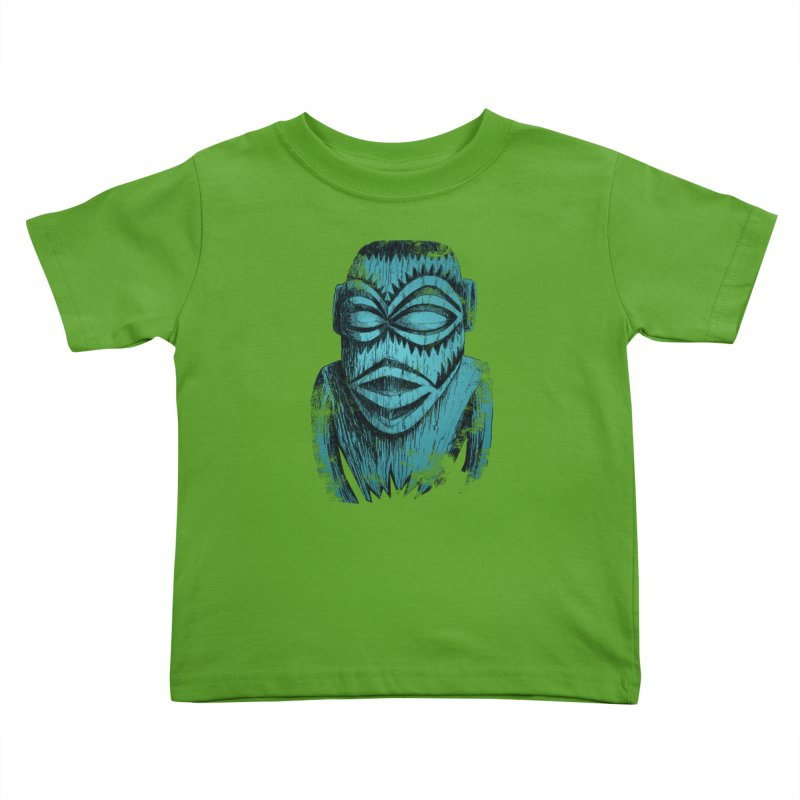 Tangaroa #3 Kids Toddler T-Shirt by Zerostreet's Artist Shop