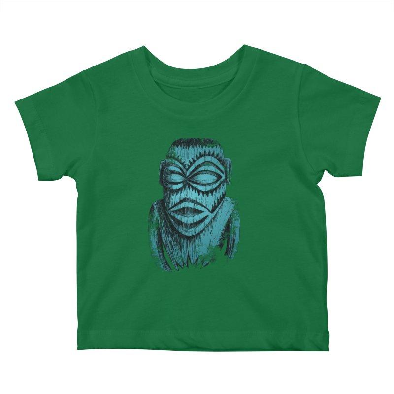 Tangaroa #3 Kids Baby T-Shirt by Zerostreet's Artist Shop