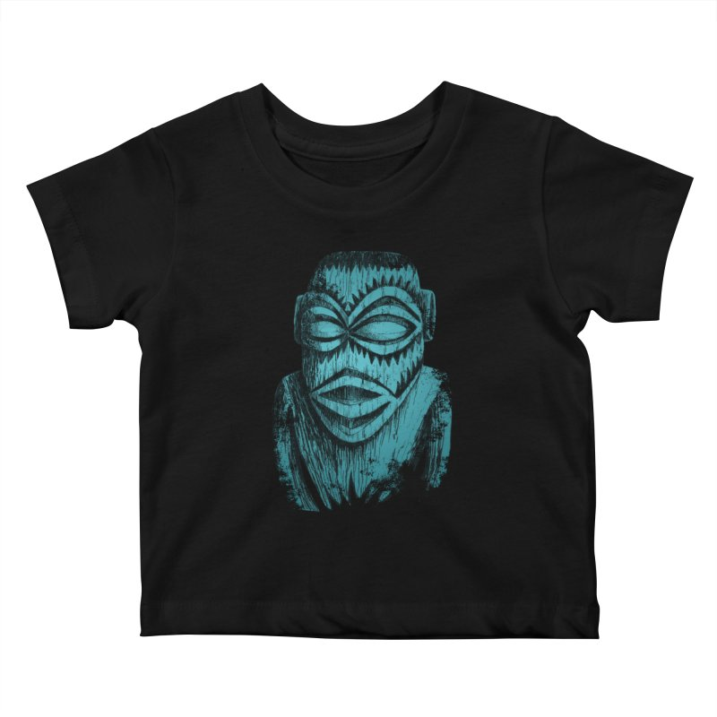 Tangaroa #3 Kids Baby T-Shirt by Zero Street's Artist Shop