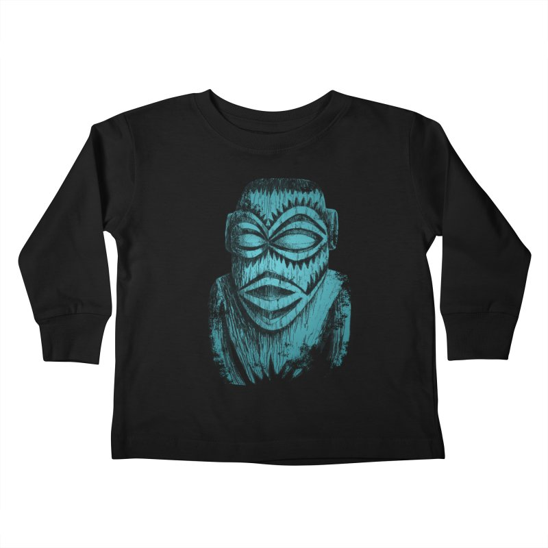 Tangaroa #3 Kids Toddler Longsleeve T-Shirt by Zerostreet's Artist Shop
