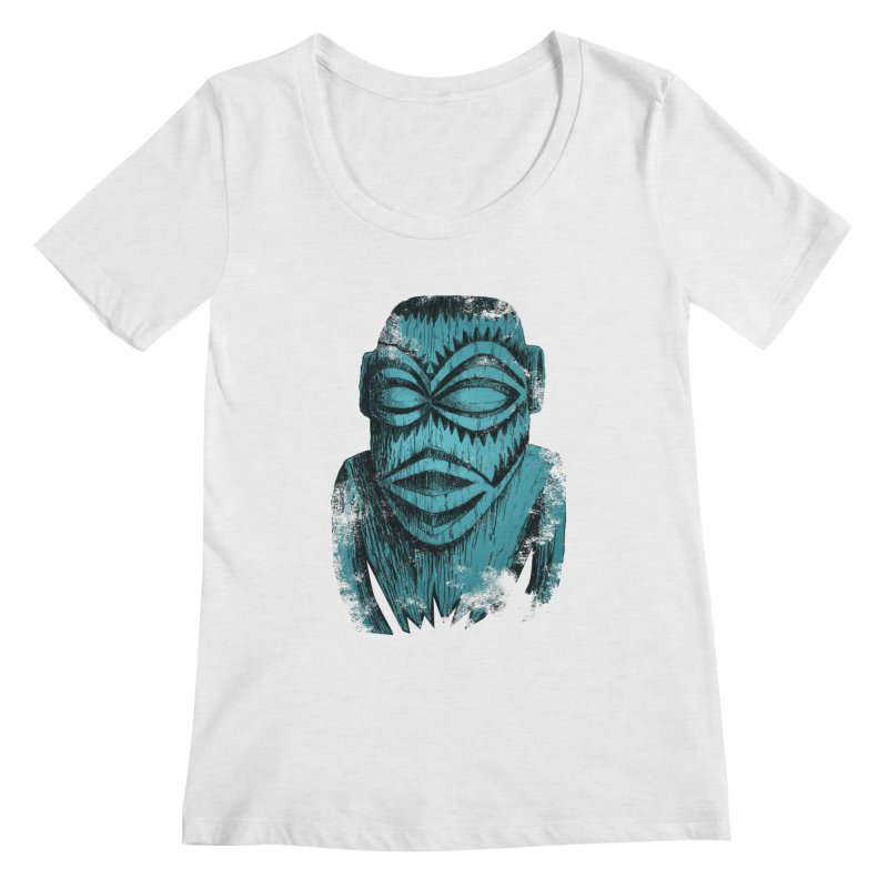 Tangaroa #3 Women's Regular Scoop Neck by Zerostreet's Artist Shop