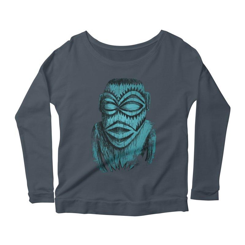 Tangaroa #3 Women's Scoop Neck Longsleeve T-Shirt by Zero Street's Artist Shop