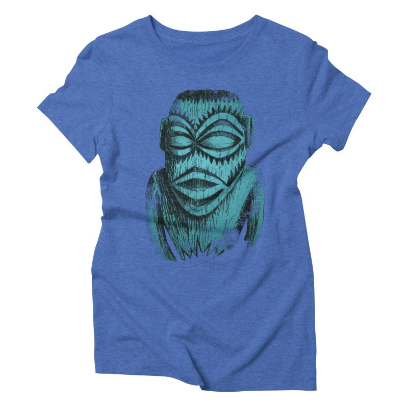 Tangaroa #3 Women's Triblend T-Shirt by Zero Street's Artist Shop