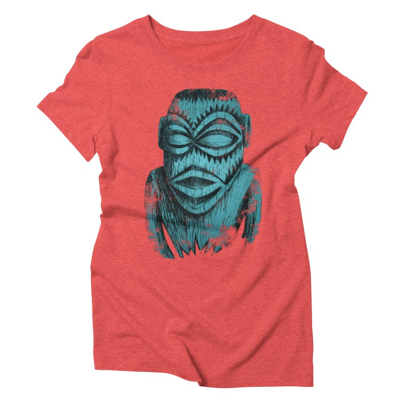 Tangaroa #3 Women's Triblend T-Shirt by Zerostreet's Artist Shop