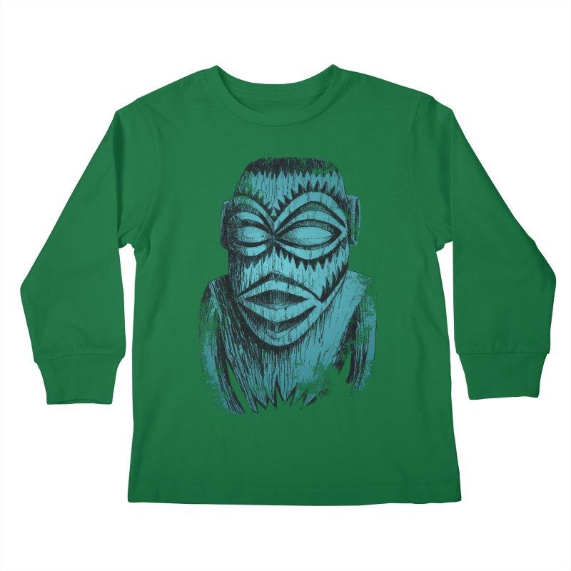 Tangaroa #3 Kids Longsleeve T-Shirt by Zero Street's Artist Shop
