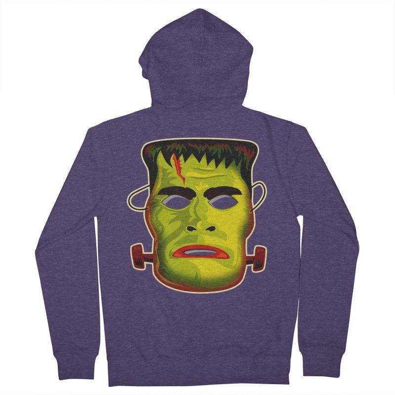 Monster Mask Men's Zip-Up Hoody by Zerostreet's Artist Shop
