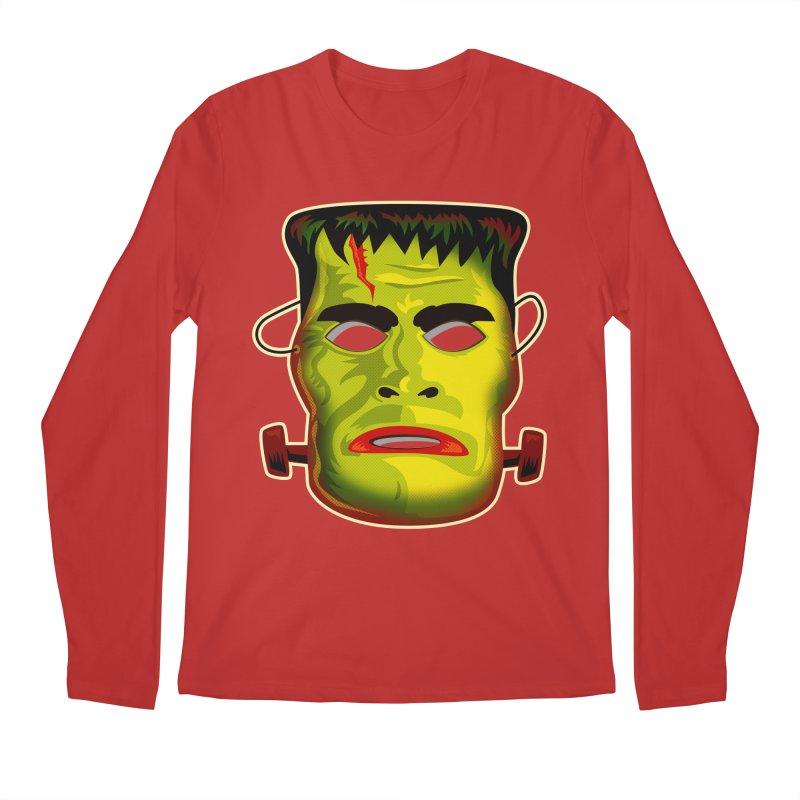 Monster Mask Men's Longsleeve T-Shirt by Zerostreet's Artist Shop