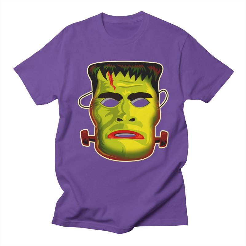 Monster Mask Women's Unisex T-Shirt by Zerostreet's Artist Shop