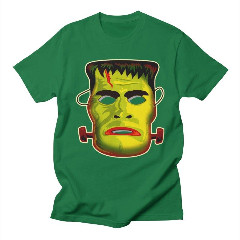 Monster Mask Men's T-shirt by Zerostreet's Artist Shop