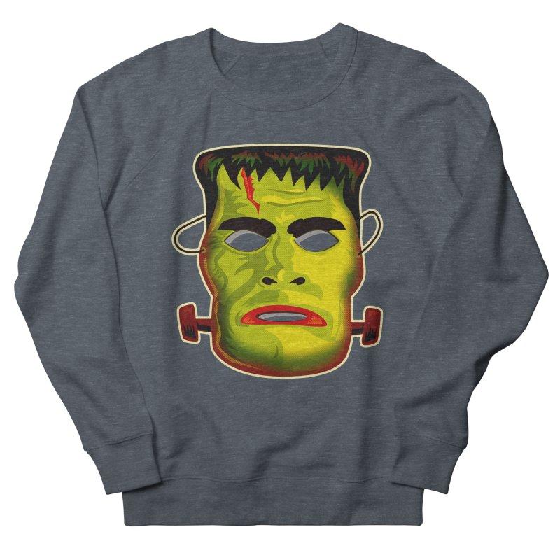 Monster Mask Women's Sweatshirt by Zerostreet's Artist Shop