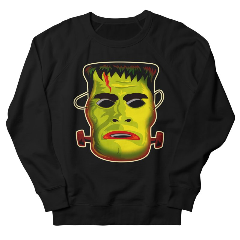 Monster Mask Women's Sweatshirt by Zerostreet's Artist Shop