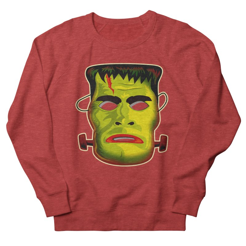 Monster Mask Men's Sweatshirt by Zerostreet's Artist Shop