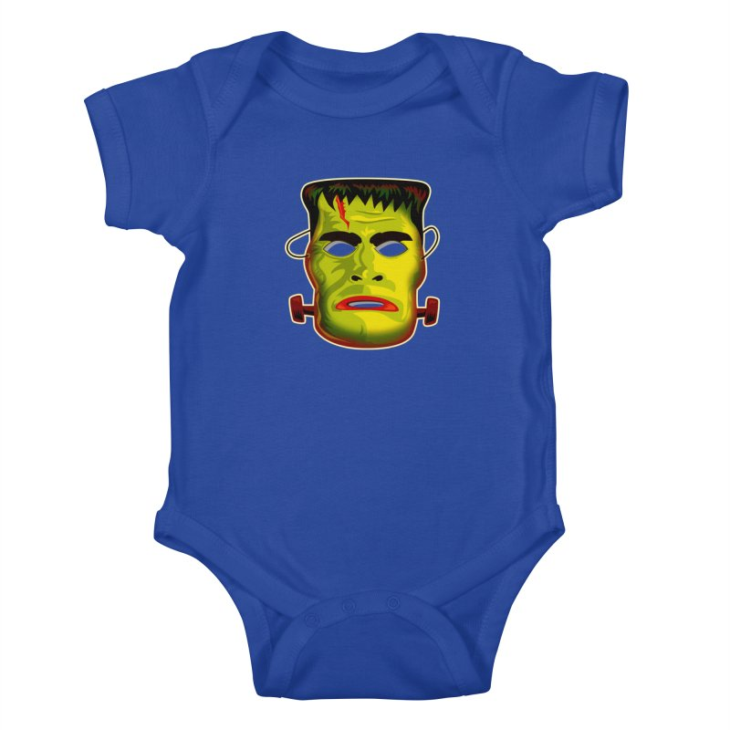 Monster Mask Kids Baby Bodysuit by Zerostreet's Artist Shop