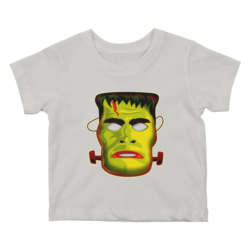 Monster Mask Kids Baby T-Shirt by Zerostreet's Artist Shop