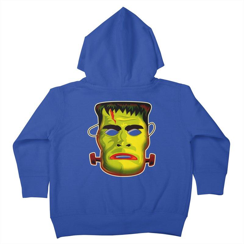 Monster Mask Kids Toddler Zip-Up Hoody by Zerostreet's Artist Shop
