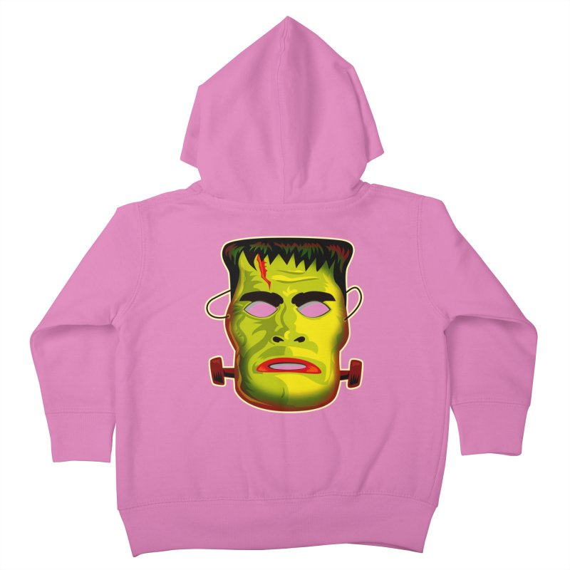 Monster Mask Kids Toddler Zip-Up Hoody by Zerostreet's Artist Shop