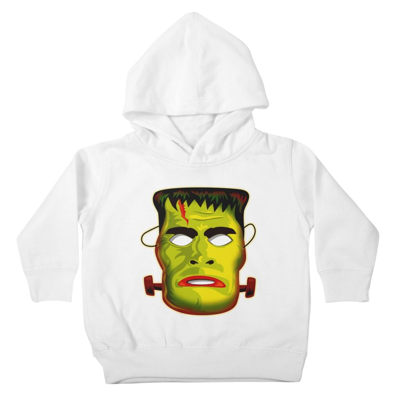 Monster Mask Kids Toddler Pullover Hoody by Zerostreet's Artist Shop