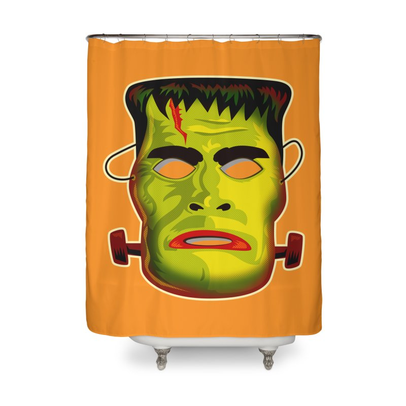 Monster Mask Home Shower Curtain by Zerostreet's Artist Shop