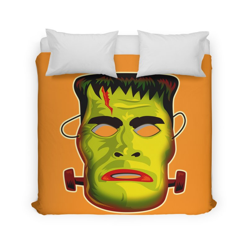 Monster Mask Home Duvet by Zerostreet's Artist Shop